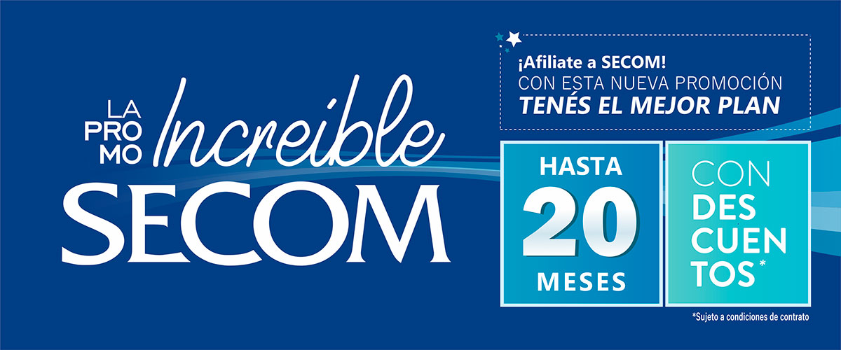 La PROMO Increible de SECOM