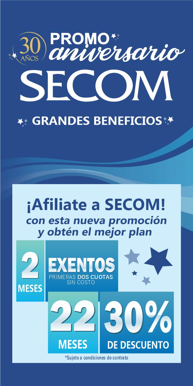 Promo 30 Años de SECOM